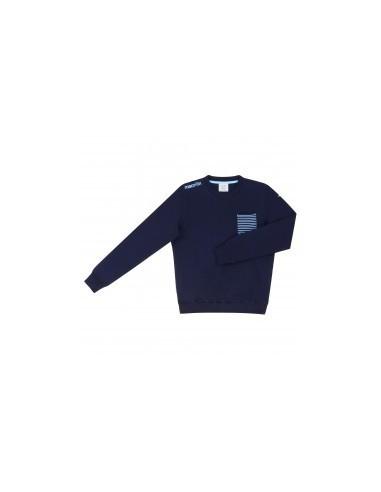 felpa a girocollo linea fan navy junior ss lazio 2016/17