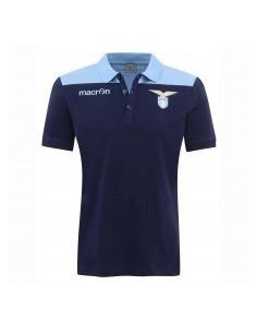 polo in cotone jersey nav/cel senior ss lazio 2016/17