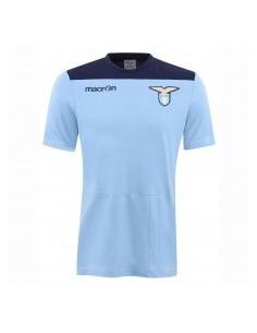 t-shirt in cotone cel/nav senior ss lazio 2016/17