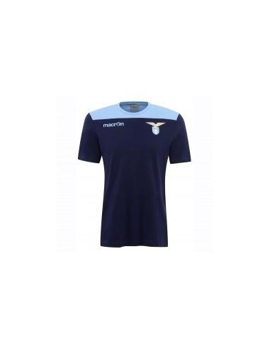 t-shirt in cotone nav/cel senior ss lazio 2016/17