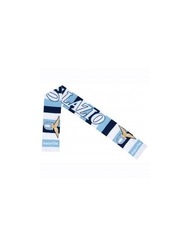 sciarpa doppiata bia/cel/nav ss lazio 2016/17