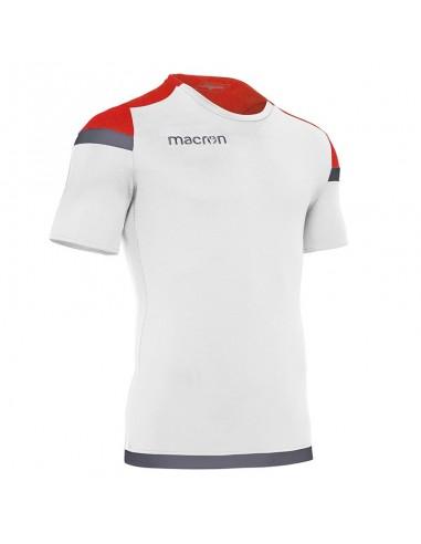 MAGLIA CALCIO TITAN BIANCO/ROSSO/ANTRACITE - MACRON