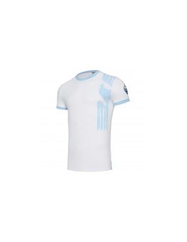 t-shirt cotone bia/cel linea fan senior ss lazio 2017/18