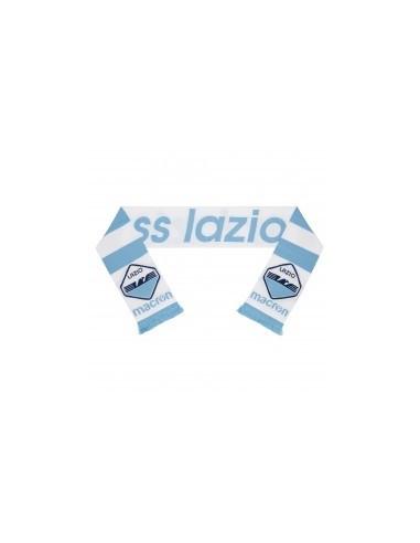 sciarpa doppiata cel/bia ss lazio 2017/18