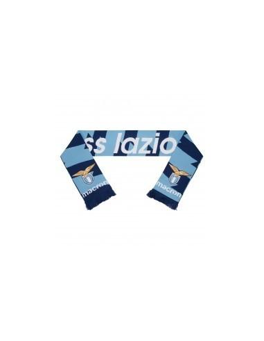 sciarpa doppiata nav/cel ss lazio 2017/18